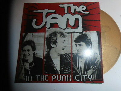 The Jam - In The Punk City  Ultra Rare 7' Gold Single Ep  Only 50 Copies