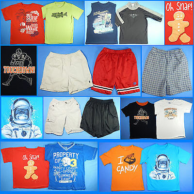 15 Piece Lot of Nice Clean Boys Size 7 Spring Summer Everyday Clothes ss6