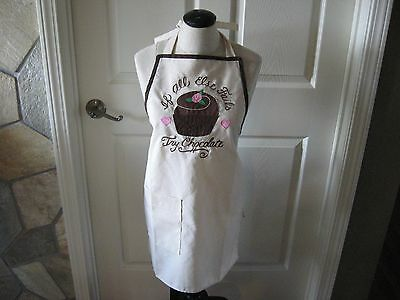 Full Bib Apron. If all else fails, try chocolate Cupcake Hearts Apron w/ pocket