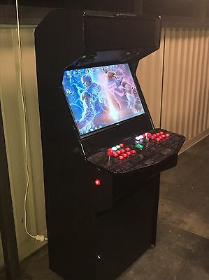 Arcade machine With TRACKBALL! 15,000 Games With Pinball! Full Warranty
