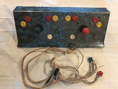 Taito Rally Bike Arcade Game Control Panel Assembly