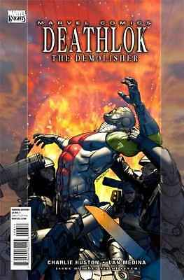 Deathlok (2010 series) #6 in Near Mint condition. FREE bag/board