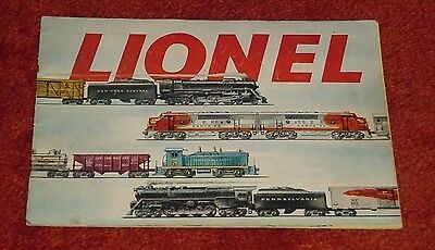 Original 1953 Lionel Train Catalog From Storage Free Shipping