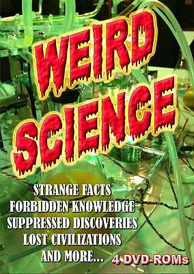 Weird Science!! Strange Technologies!! Forbidden Truth!! 4 DVD-ROMs boxed