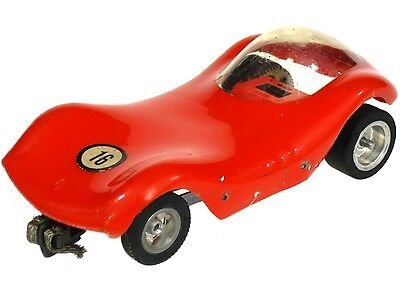 Vintage 1960's Classic Manta Ray 1/24 Slot Car w/Chassis