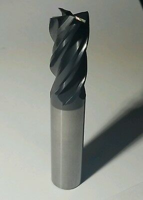 """5/8"""" Solid Carbide variable flute Gorilla Mill, New"""