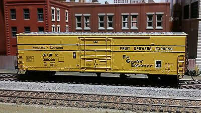 Ho Athearn Rtr L&n Fge 50 Ft Pd Box Car Metal Wheels Kadee Couplers
