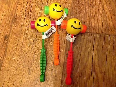 JIBBER JABBER GROAN HAMMER toy 3 colours given sensory autism party bags 4 to 12