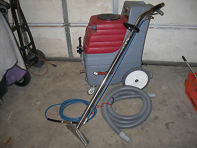 Sanitaire CARPET CLEANING EXTRACTOR MACHINE SC6080 - pump shuts off