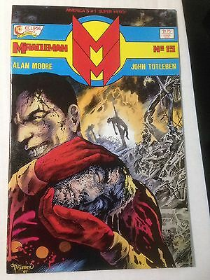 Miracleman #15 (Nov 1988, Eclipse) VF/NM Higher Grade Death Of Kid Miracle
