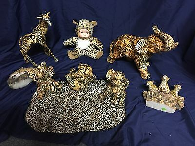 Leopard Print Collectible Lot.