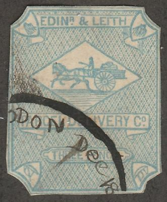 Kappysstamps S1603 Great Britain Local Edins & Leith Sc# ? Used Cv= $10
