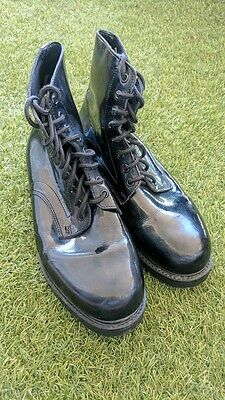 Dress Boots, Ceremonial Army Cadets size 10.5