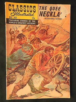 Classics Illustrated # 165 The Queen's Necklace HRN 166 G