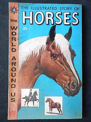 Classics Illustrated Story Of Horses #3 The World Around Us G/VG
