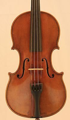 Nice old antique 4/4 Violin Markneukirchen Wolfgang Romer Amati  Circa 1900s