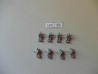 Lot  of 8 French or American Civil War 15mm Zouave infantry