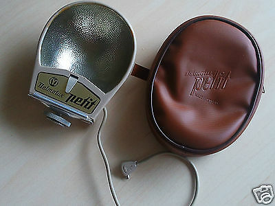 1960's Vintage Delmolux petit Lamp Flash with original Case made by Montanus