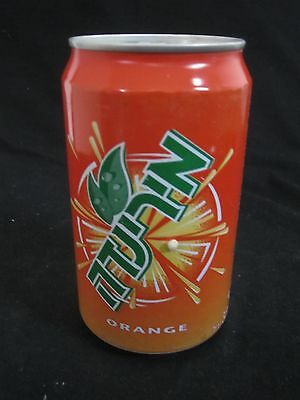 MIRINDA  ISRAEL  : a 330ml empty can, 2000.
