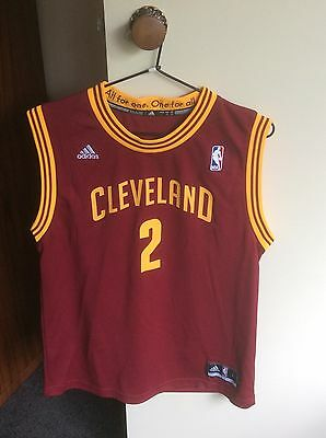NBA Basketball Jersey Size L Cleveland Cavaliers #2 Irving
