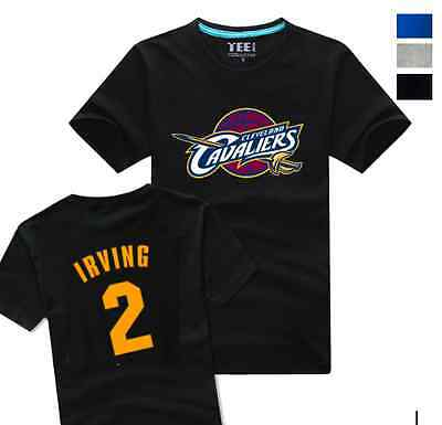 Kyrie Irving #2 Kids Boys Youth Jersey Tops T Shirt Shirts Cleveland