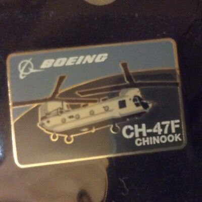 "Boeing Ch-47F ""chinook Helicopter""  Lapel Pin"