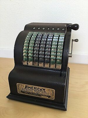 Adding Machine by American Can Company Serial No. 5518