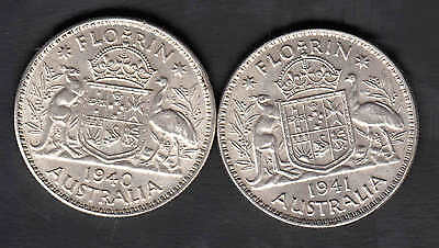 1940/41  Florin Unc Nice Coins