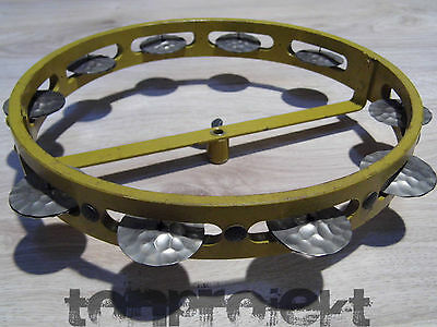 ancien COQ HI HAT tambourin vintage tambourin DBGM Cymbalette Germany