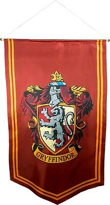 Harry Potter - Gryffindor Satin Banner-115cm x 70cm-Ikon Collectables