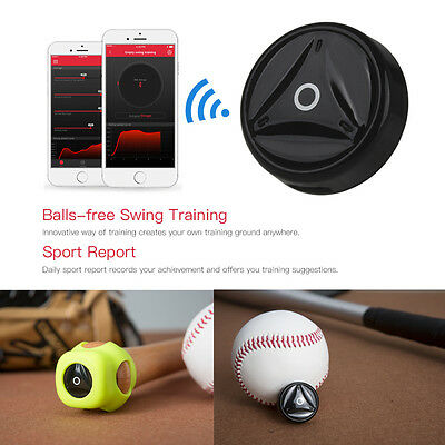 Coollang Baseball Sensor Swing Assistant Sports Exercise Train Activity Tracker