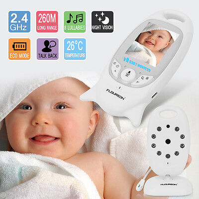 """2.0"""" LCD Audio Video Baby Monitor Wireless Camera IR Night Vision Safety Viewer"""