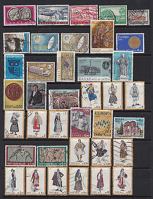 Greece Neat Selection of Pictorial Stamps 2 SCANS (Ge05022)