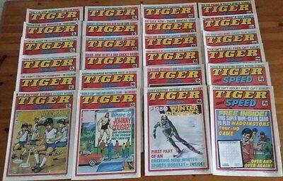24 xTiger and Scorcher / Tiger and Speed Comics 1978/1979/1980
