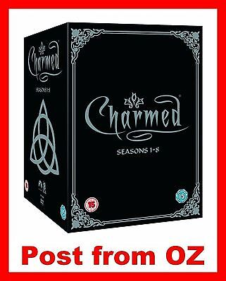 Charmed: Complete Series 1,2,3,4,5,6,7,8 Collection Box Set - New R4 DVD- Season