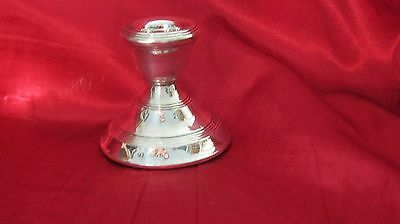 Vintage Hallmarked Silver Candle Stick Dated London 1923