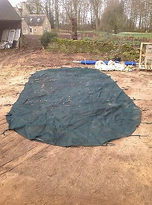 Swimming Pool Winter Cover For Pet And Child Safety
