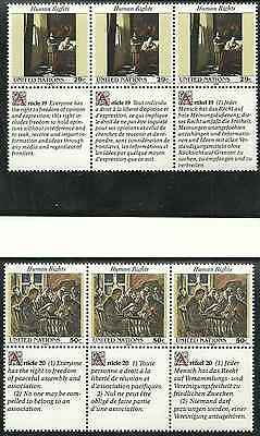 Timbres ARTS Nations Unies US 620/5 ** (4427)
