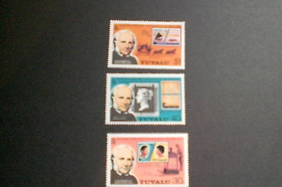 Tuvalu Stamps-Sir Rowland Hill Rare