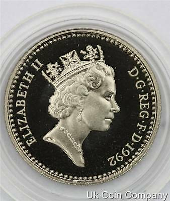 1992 ROYAL MINT UK DECIMAL PROOF 5p FIVE PENCE COIN
