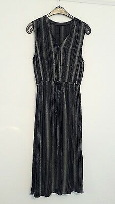 Vintage Pinstripe Dress Size 10
