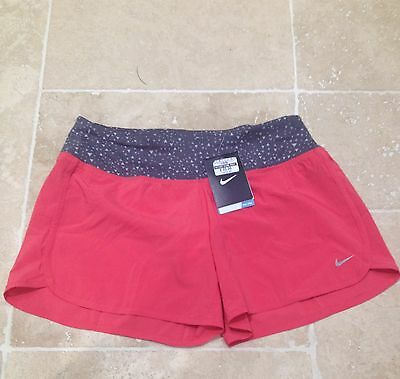 Ladies Nike Dri Fit Running/fitness Shorts Brand New With Tag Uk S