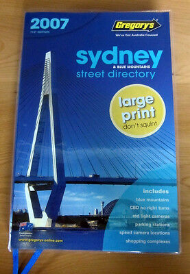 Vintage Gregory's SYDNEY Street Directory 2007 71st Edition