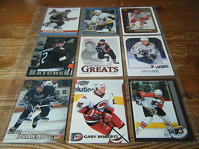200  Various  American Ice Hockey Cards From Over 100  Different Sets   Nice Lot
