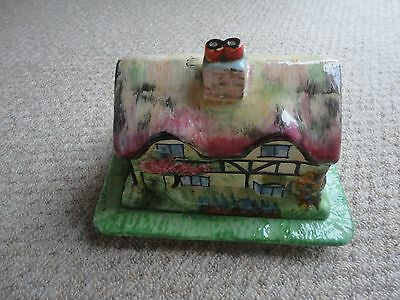 Royal Winton Grimwades ANN HATHAWAYS COTTAGE Butter/Cheese Dish