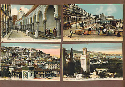 ALGIERS, ALGERIA: Collection of Scarce Antique Postcards (1920)S