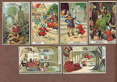 FAIRY TALE: Complete Set of RARE Victorian Trade Cards (1900)R
