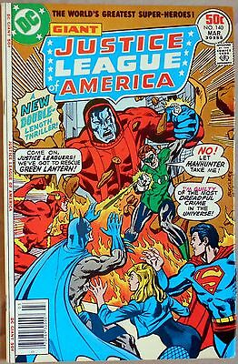 Justice League of America  #140 VF-