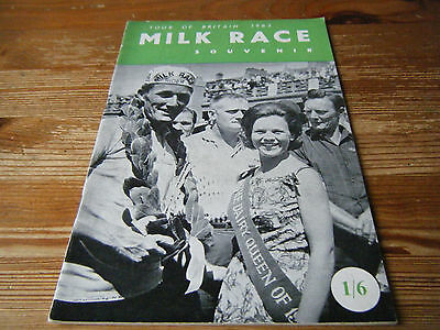 1963  Milk Race - Tour Of Britain  Cycling Programme  -  36  Pages   Vgc