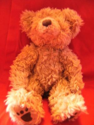 """Collectable Russ Berrie """" THORNBURY """" Brown Bear Plush Toy 10"""""""